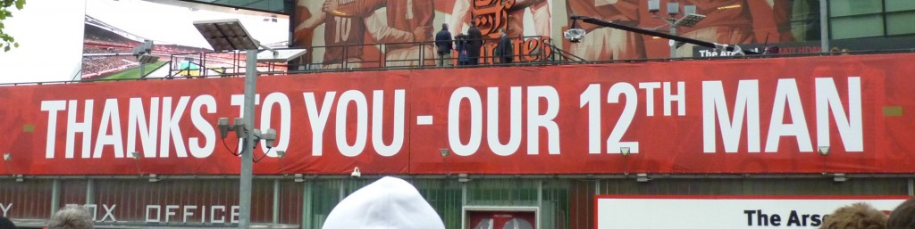Thanks to you our 12th man