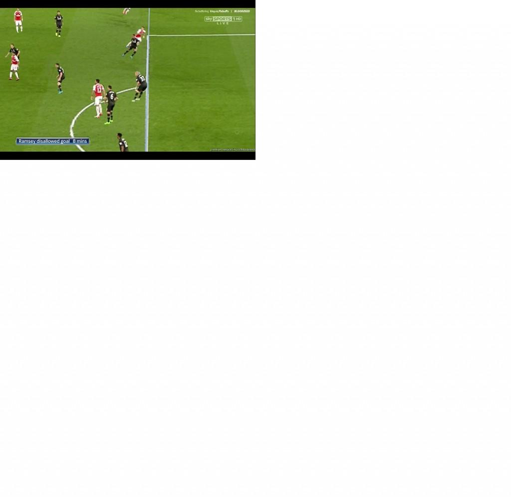 Ramsey onside Liverpool2