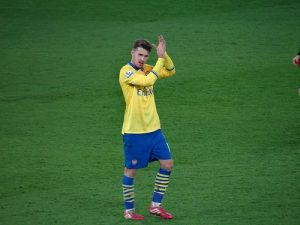 Ramsey pic clapping